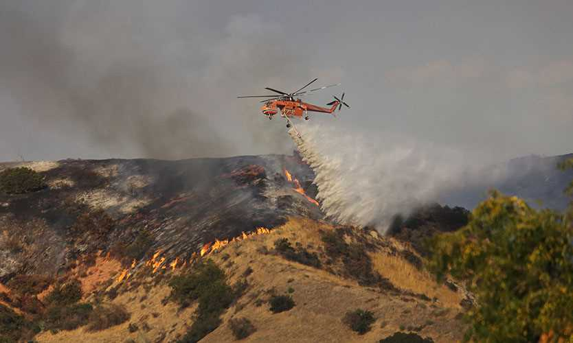 California wildfires pose challenges to insurers