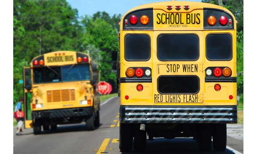 School bus drivers racial discrimination reinstated