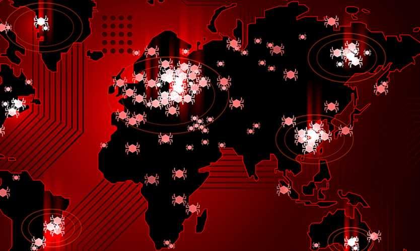 Ransomware virus Petya computer servers Europe Russia Ukraine