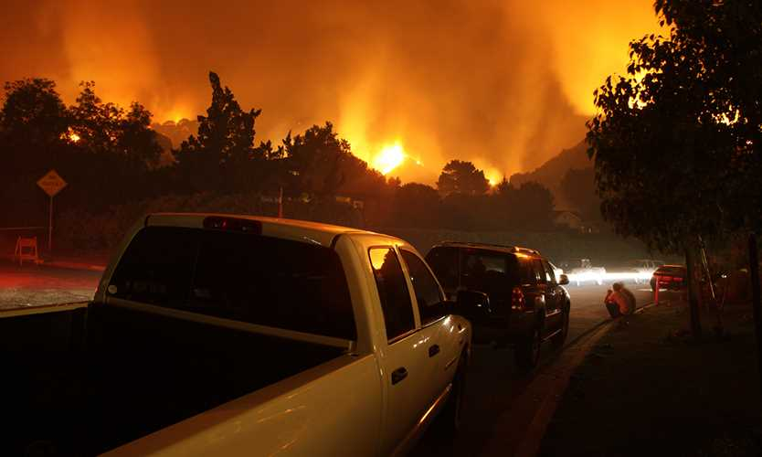 Travelers insured California wildfire losses may reach 675 million dollars