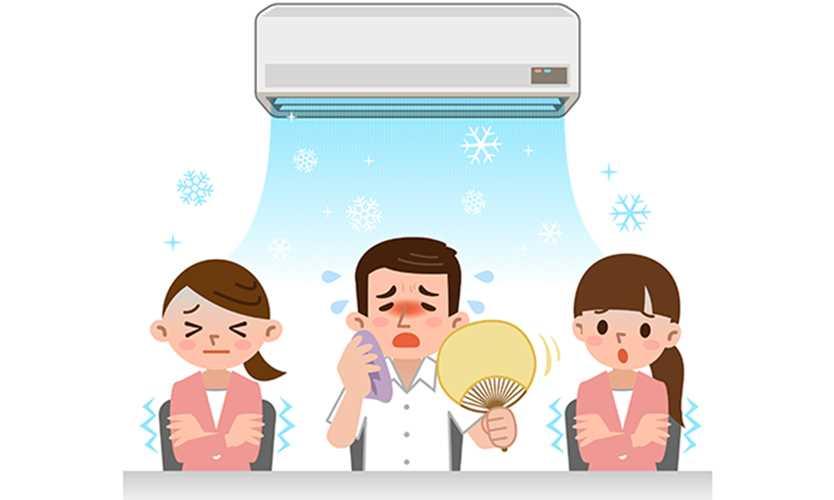 Debate heats up over 'sexist' office temperatures