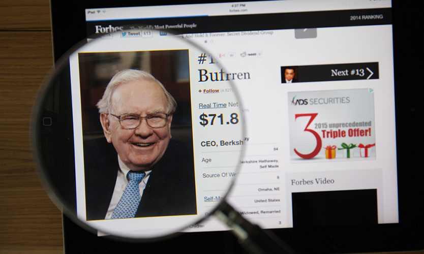 Berkshire Hathaway Warren Buffett