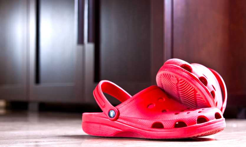 edef942276ac Crocs lose their footing in the rubber shoe market