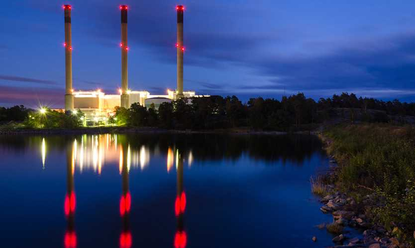 Sweden power plant