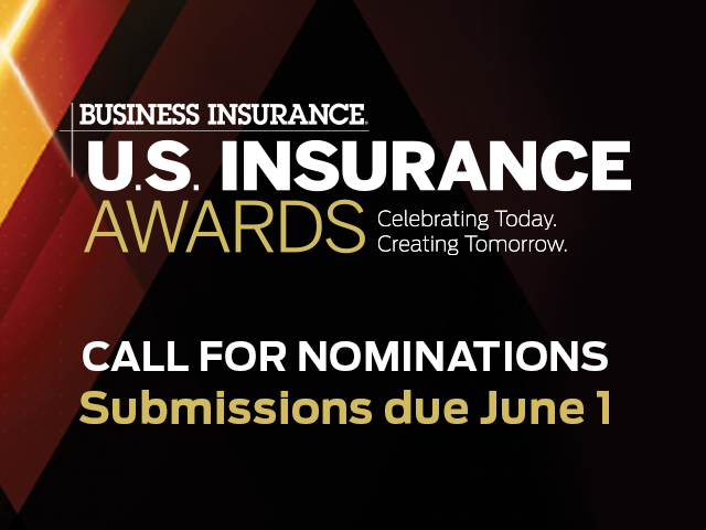 Nominations for the U.S. Insurance Awards are now open!