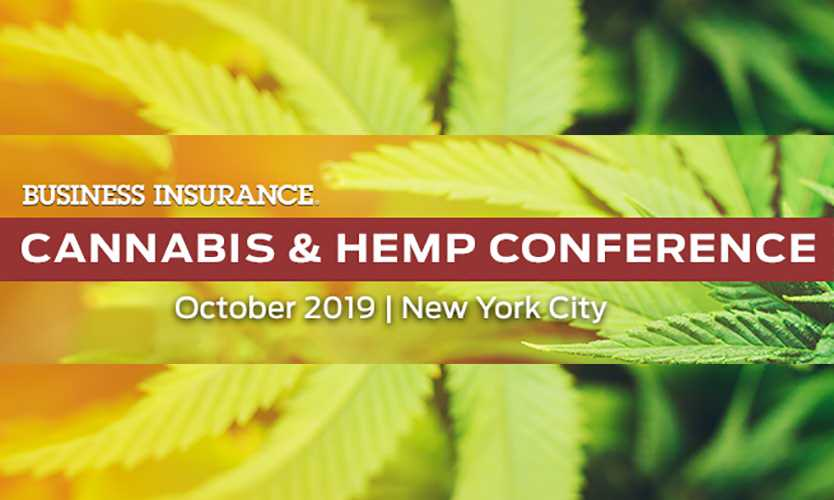 Business Insurance cannabis conference