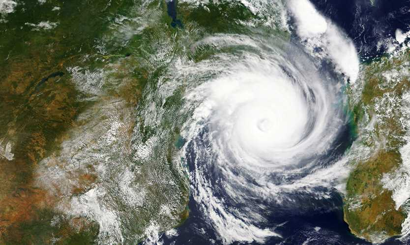 Cyclone Idai heads towards Mozambique and Zimbabwe in 2019