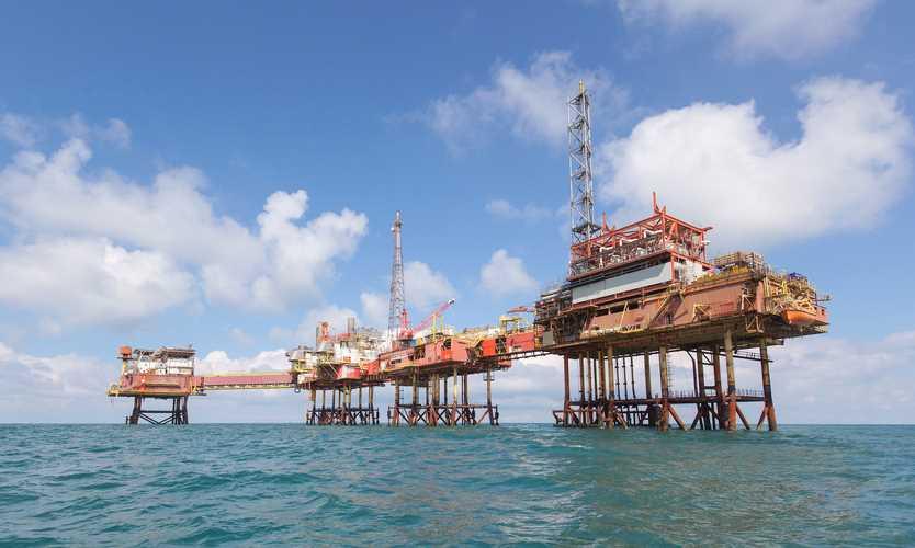 Australian oil platform