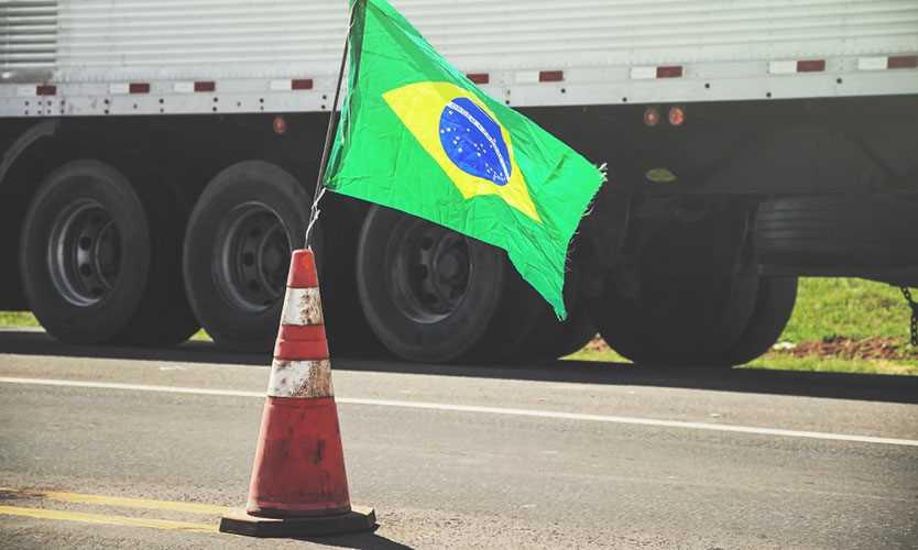 Truck in Brazil