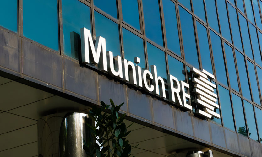 Munich Re office in Singapore