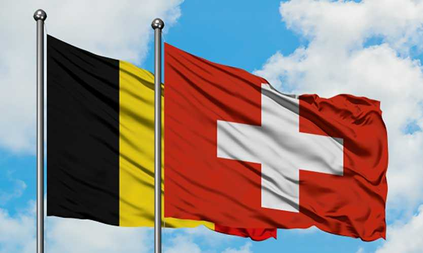 Belgium and Switzerland
