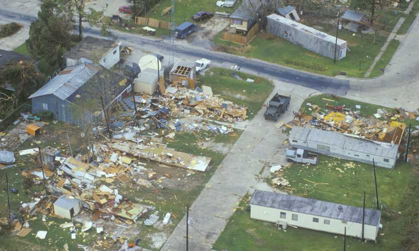 Lasting effects of Hurricane Andrew