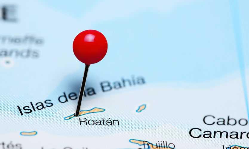 Island of Roatan, Honduras