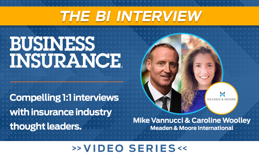 Video: The BI Interview with Caroline Woolley, Mike Vannucci of Meaden & Moore