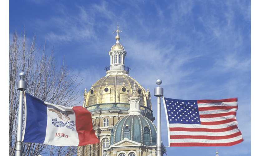 Iowa governor signs workers comp reform bill into law
