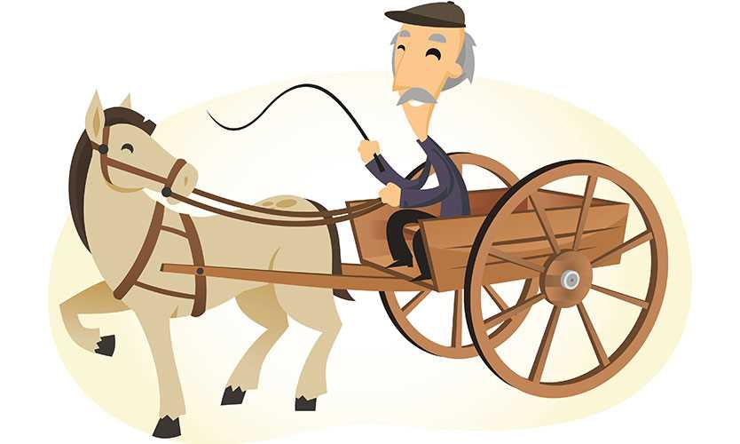 Horse-and-buggy car insurance fraudster weaves tale of whoa