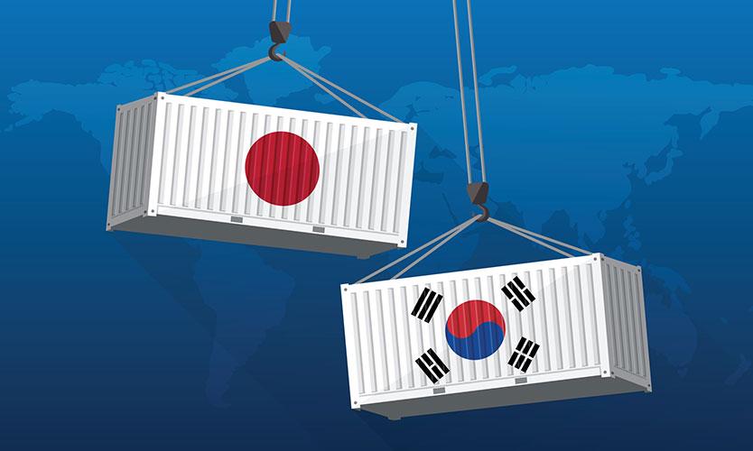 Japan South Korea trade war