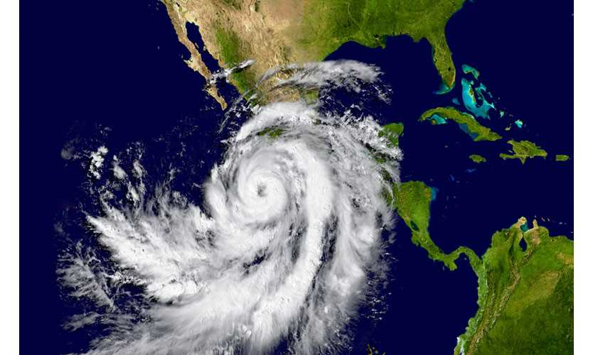 Hurricane approaches Mexico