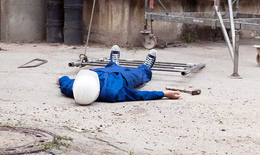 Falls from height drive construction workers compensation claim costs Nationwide