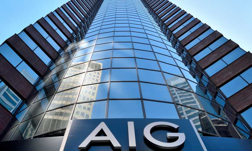 AIG reports $1.3B loss for third quarter as typhoons, hurricane hit