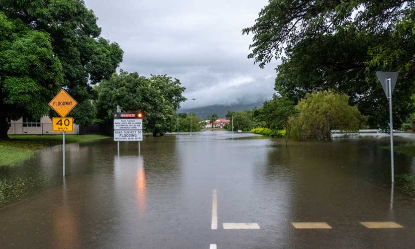 Flooding in Townsville, Australia