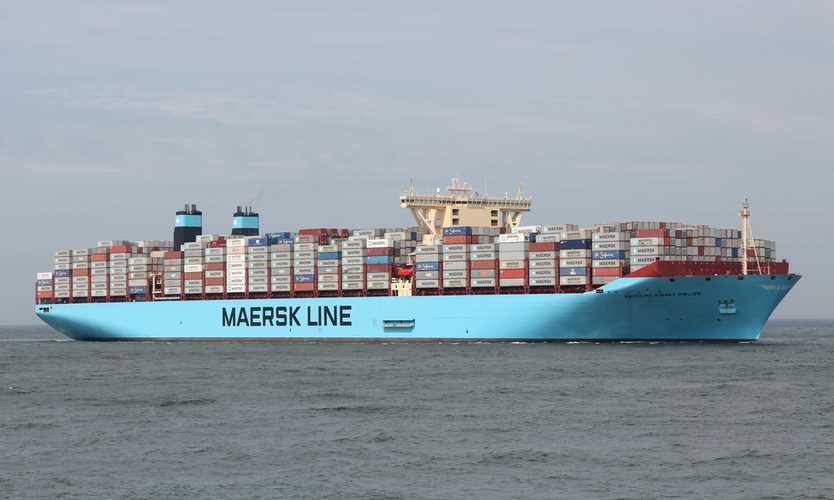 Cyber attack GoldenEye Petya on Maersk affects shipping