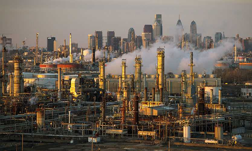 Philadelphia Energy Solutions oil refinery
