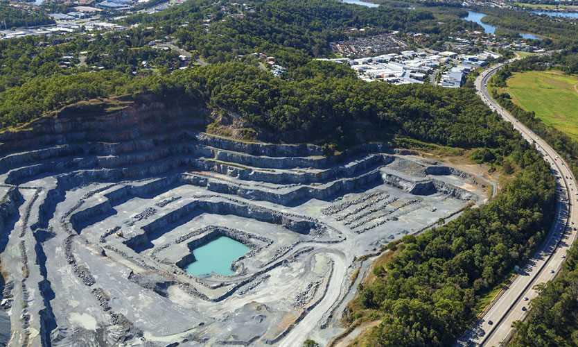 Queensland quarry