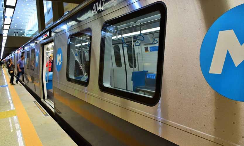 Brazil Metro train