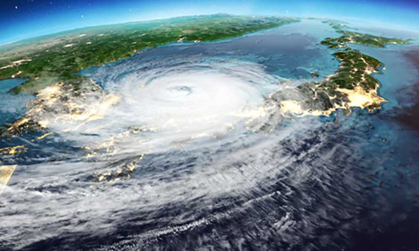 Japan cyclone