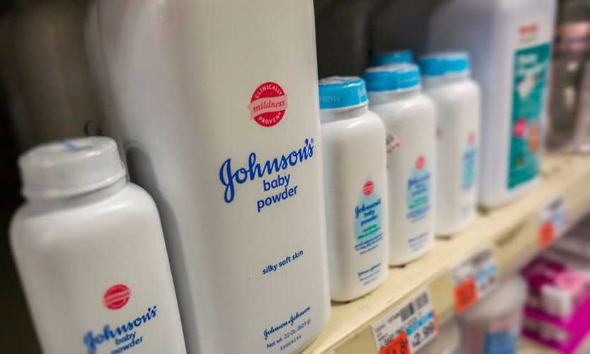 Johnson & Johnson talc products