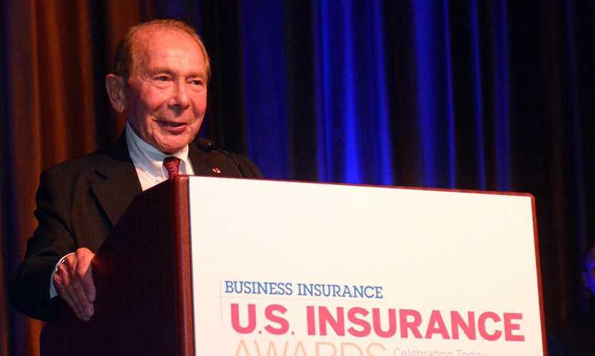 Maurice R. Greenberg receives Crain Lifetime Achievement Award