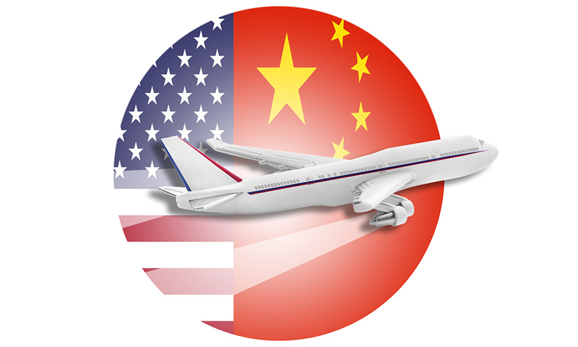 US China air freight
