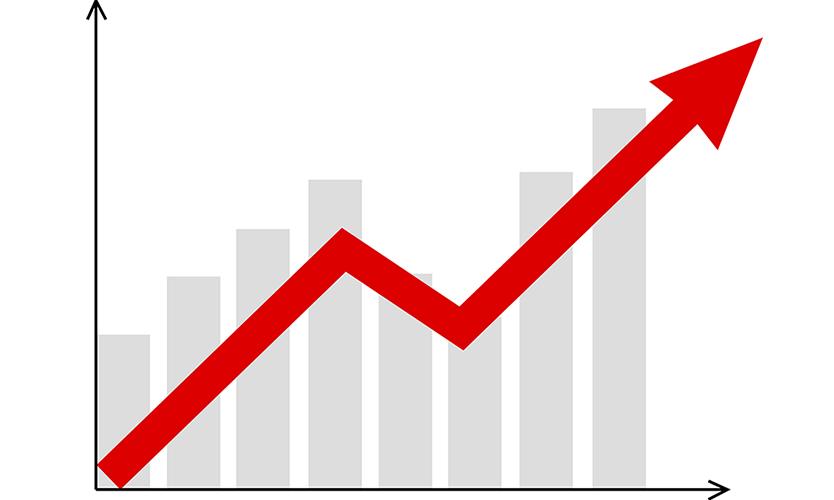 Profit rise