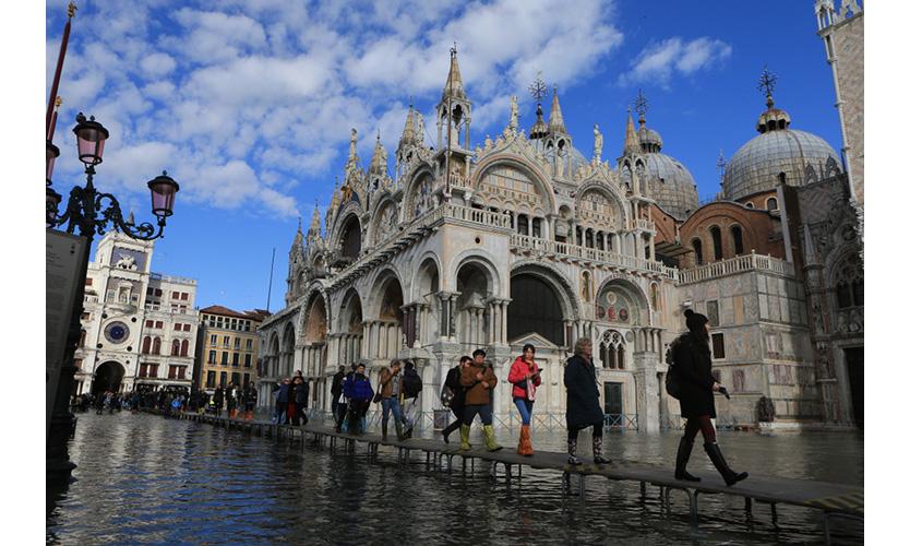 Flooded St. Mark's Square