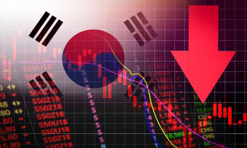 South Korea financial pressure