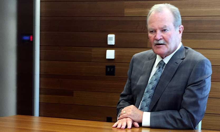 AIG CEO Duperreault sees huge potential to tap insurance linked securities