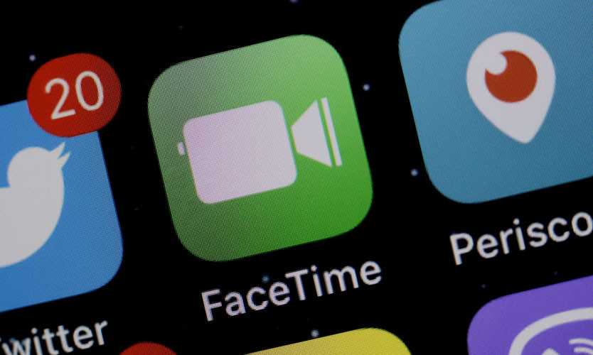 Apple FaceTime app