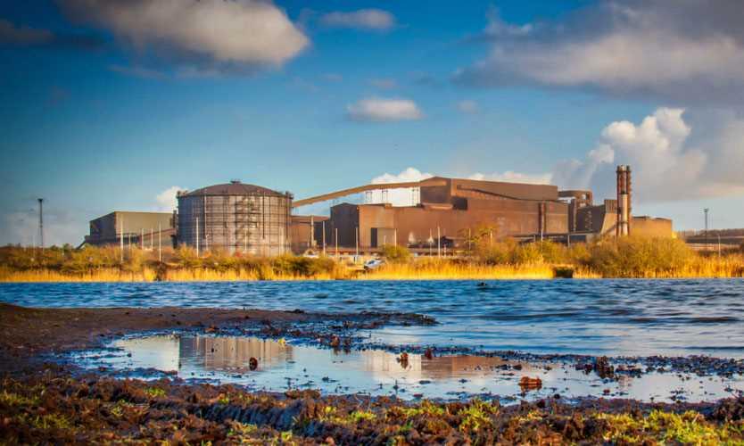 British Steel, Scunthorpe, England