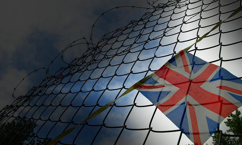 UK shut out