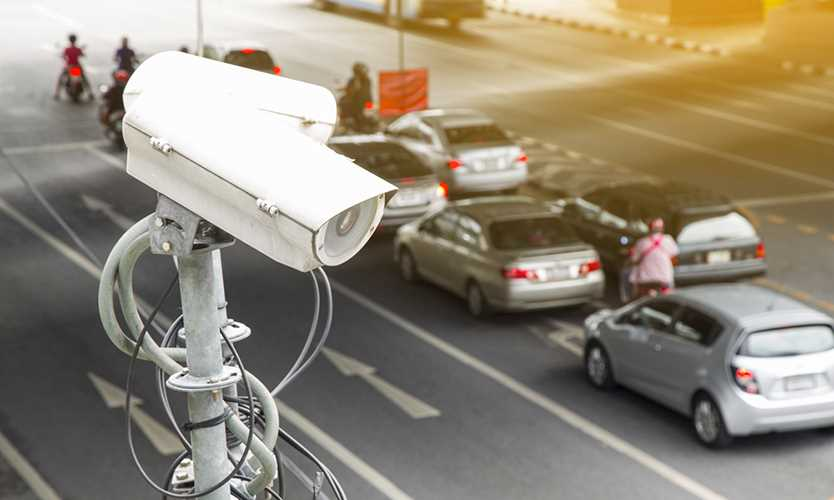 stolen car surveillance video