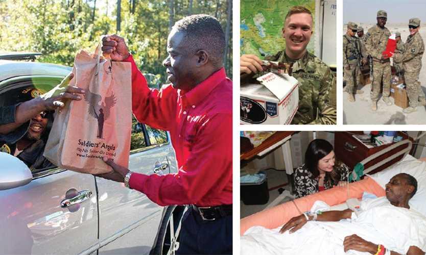 Community project aids service members, veterans