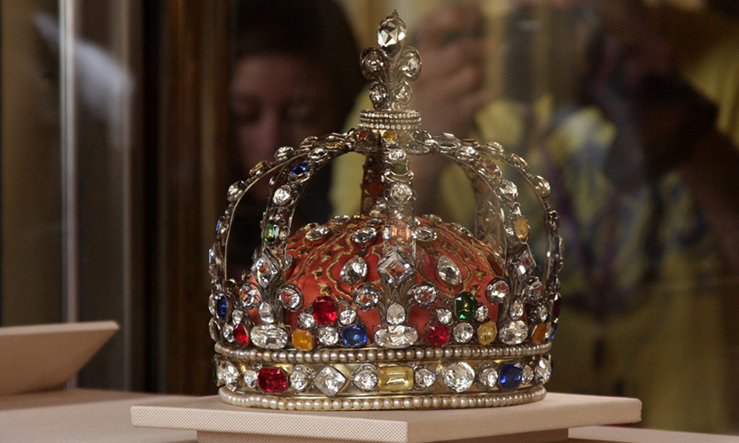 Britain crown jewels