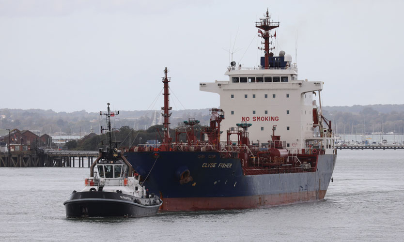 James Fisher tanker Clyde Fisher