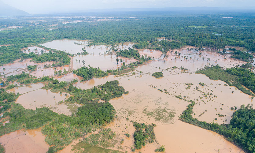 Flooding in Laos