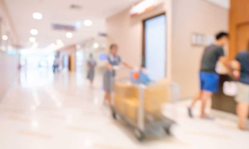 Hospital housekeeper
