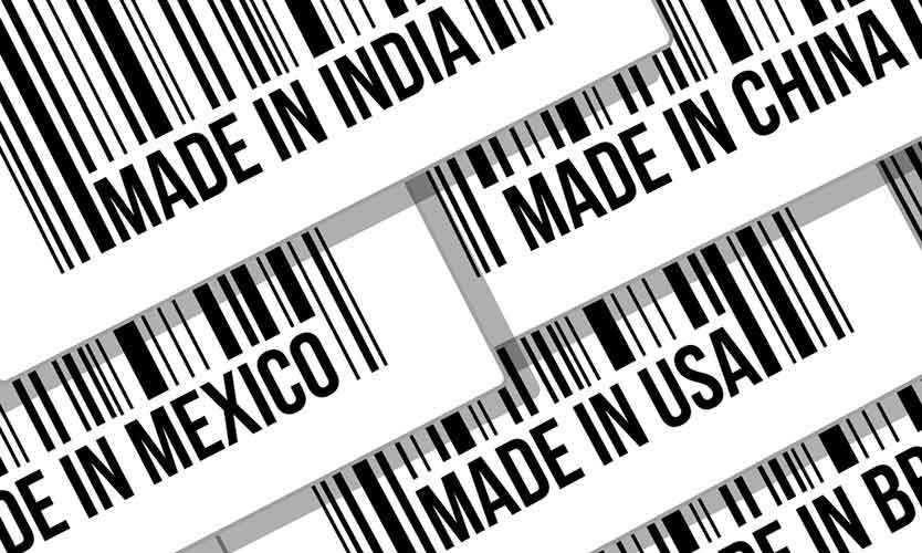Supply chain barcode