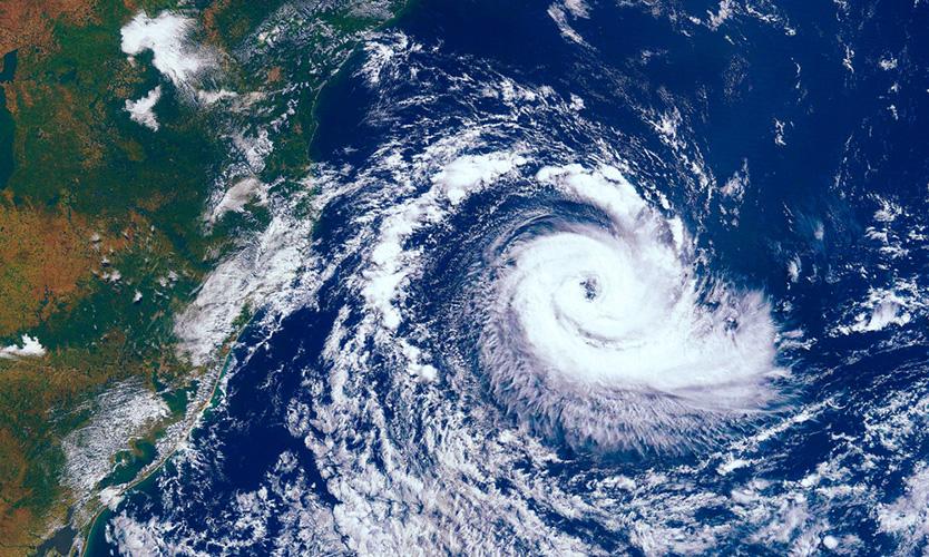 Typhoon Faxai in September 2019