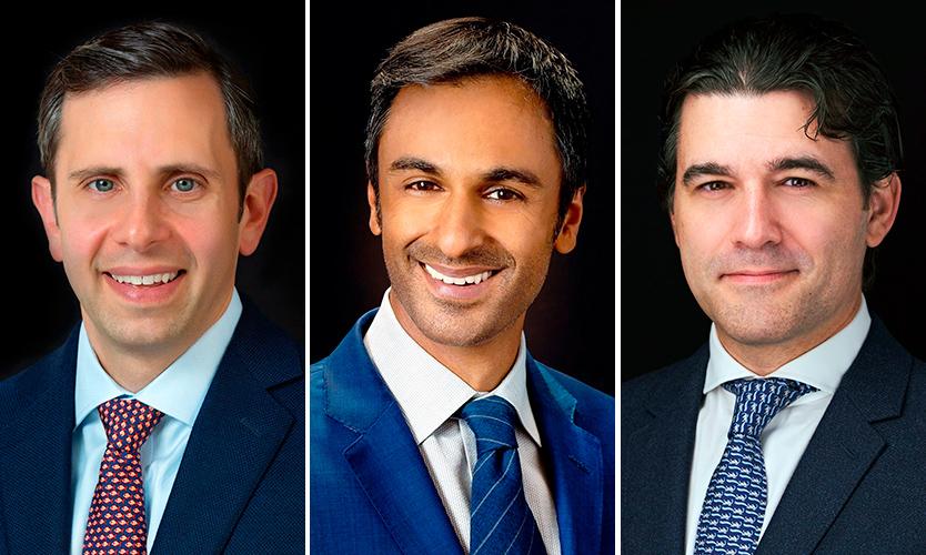Joshua Halpern, Gaurav Sud and Eric Ziff