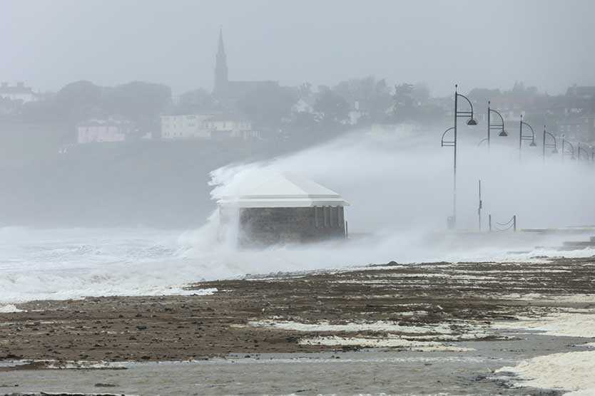 Storm in Ireland